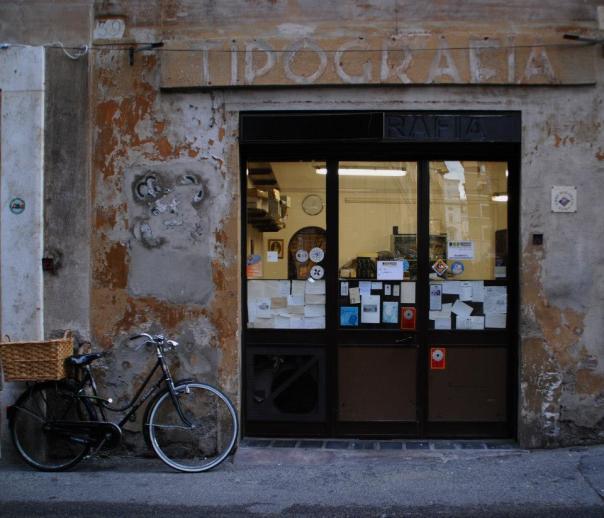 Dans les rues de Rome...